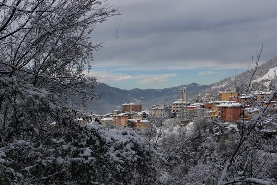 dopo la nevicata - Lumezzane (1144 clic)