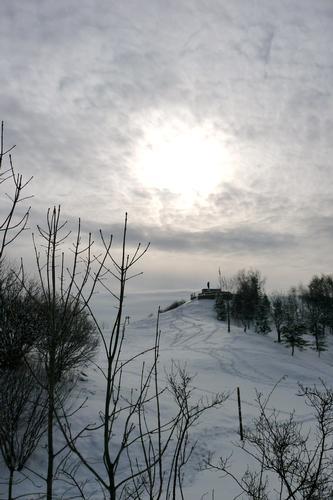 Monte Conche con la neve - Nave (1292 clic)