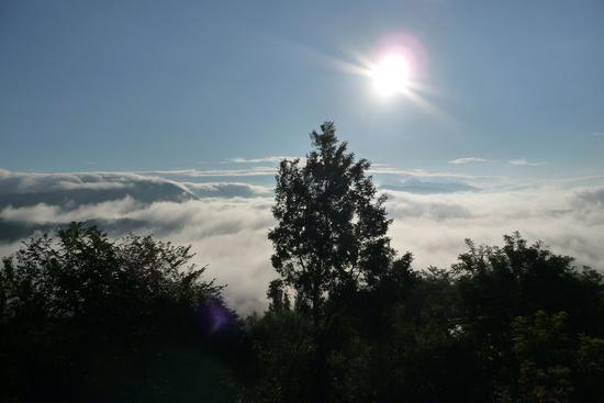 Nebbia sulla Conca d'Oro - Bione (740 clic)