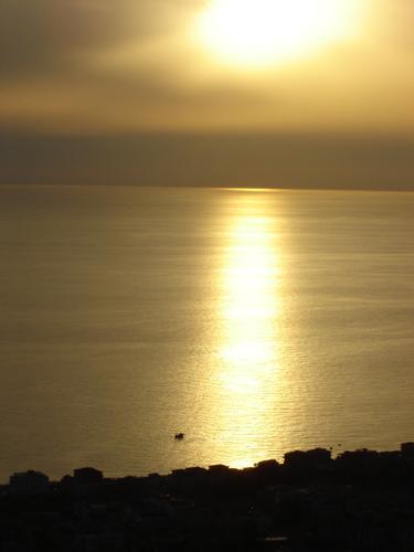 tramonto dopo la pioggia - Fuscaldo (901 clic)
