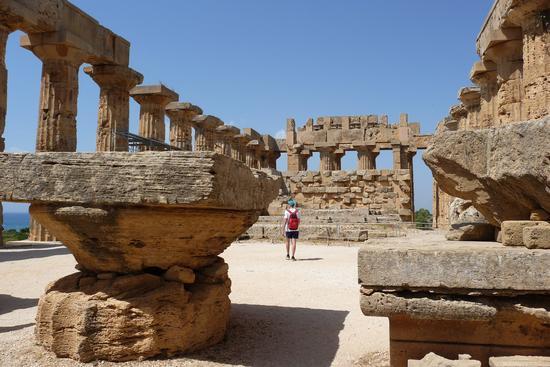 Il tempio - Selinunte (1002 clic)