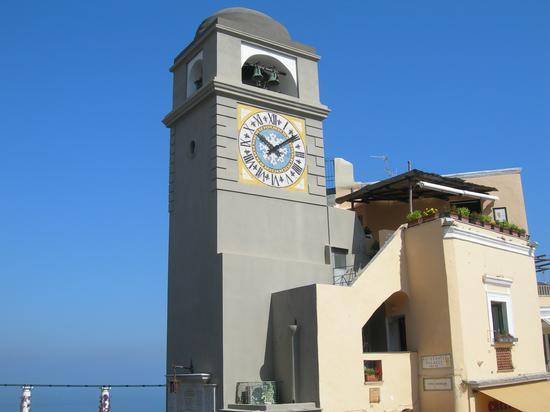 Torre campanaria - Capri (1943 clic)