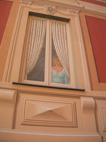 donna alla finestra - Santa margherita ligure (4044 clic)