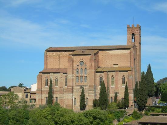 Siena, basilica san domenico (2056 clic)