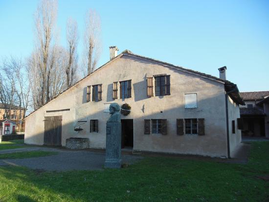 Casa natale di Verdi - Roncole verdi (1086 clic)