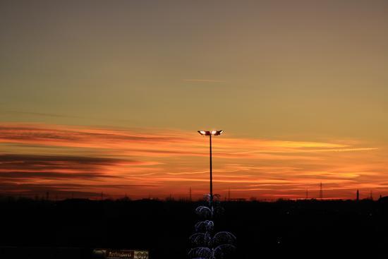tramonto - Gessate (1353 clic)