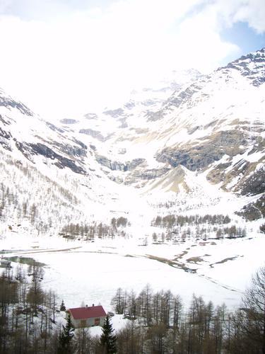 montagne innevate - TIRANO - inserita il 23-Jan-12