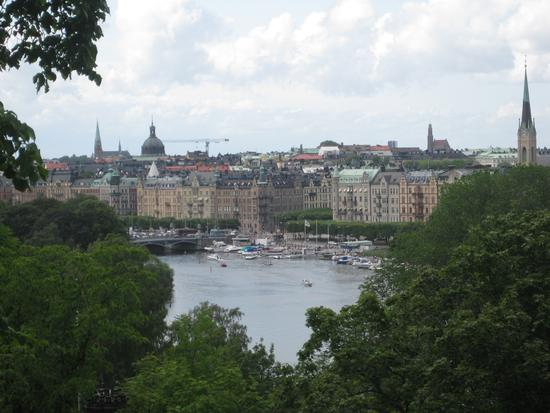 A beautiful view of Stockholm! (723 clic)