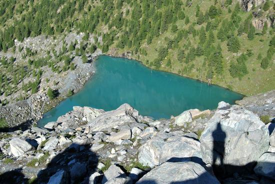 Il lago Blu alle pendici del Monte Rosa - Saint jacques (5167 clic)