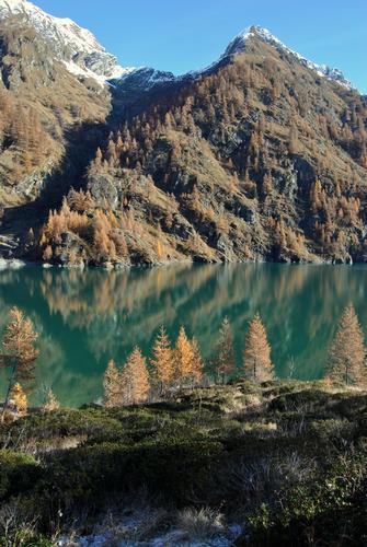 Ultimi giorni d'autunno al Lago dell'alpe Cavalli - Antrona schieranco (2086 clic)
