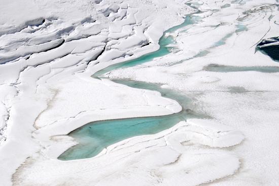 il lento sciogliersi dei ghiacci - Formazza (2105 clic)