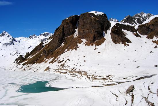 il lento sciogliersi dei ghiacci - Formazza (1381 clic)