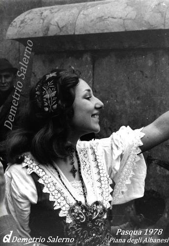 Pasqua 1978  Piana degli Albanesi (1224 clic)