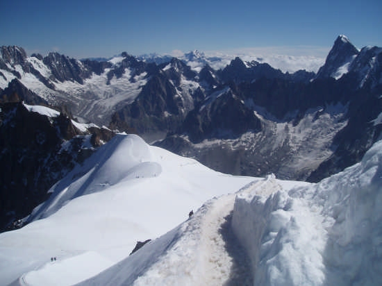 Le montagne del Bianco - Courmayeur (7762 clic)