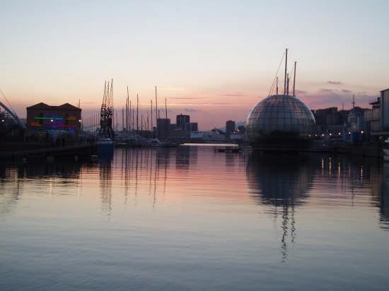 Il porto antico e la Bolla - Genova (4086 clic)