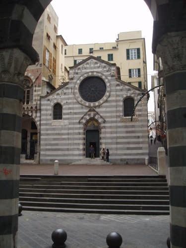 La chiesa di S.Matteo - Genova (6070 clic)