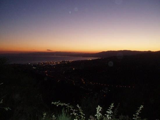 Il golfo di Genova da Forte Ratti (3172 clic)