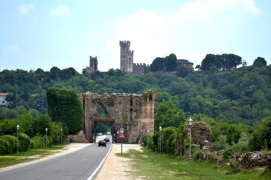 castello di valleggio sul mincio - Valeggio sul mincio (2317 clic)