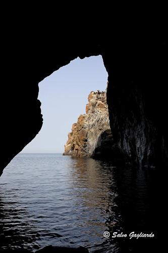 Grotta del cavallo - Lipari (3149 clic)
