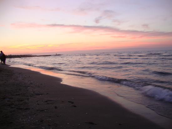 rosso di sera .. bel tempo si spera - Margherita di savoia (1321 clic)