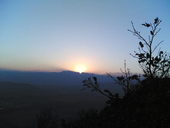 tramonto dal Musinè - Caselette (1601 clic)
