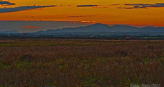 post tramonto - Olmedo (1652 clic)