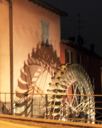 mulino di notte - Mozzanica (1435 clic)