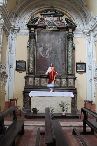 PRIMO ALTARE LATERALE - Caravaggio (1248 clic)