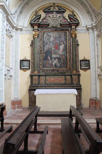 SECONDO ALTARE LATERALE - Caravaggio (1487 clic)