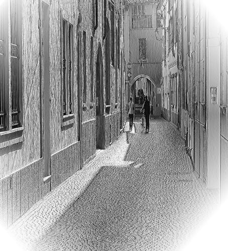 Foto d'altri tempi...........  . - Caravaggio (1402 clic)