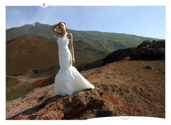 Una Sposa sull'Etna (2944 clic)