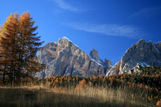 Vista sulle Tofane - Cortina d'ampezzo (5937 clic)