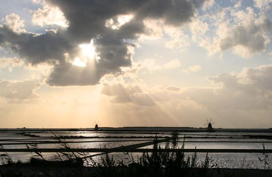 Tramonto sulle saline - Marsala (2575 clic)