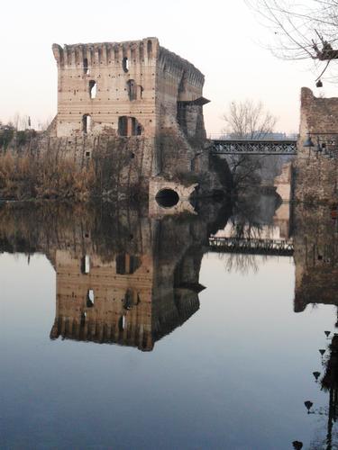 Riflessi D'acqua - Valeggio sul mincio (1395 clic)