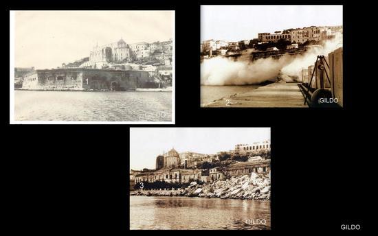 Il Bastione Annunziata - 1910 circa - Gaeta (2827 clic)