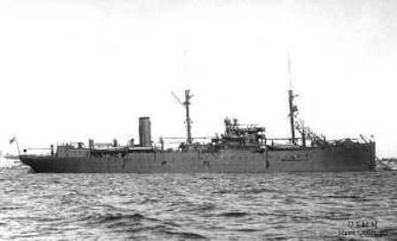 Nave Quarnaro - 1930 Circa - Gaeta (3088 clic)