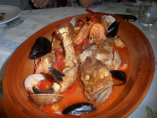 Zuppa di pesce - Gaeta (2112 clic)