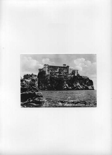 Il Castello visto dal mare - 1930 circa - Gaeta (1994 clic)