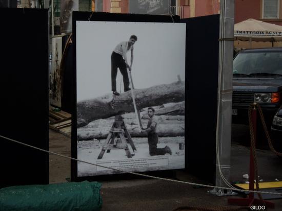 Carpentieri al lavoro (1930/1950 circa) - Gaeta (1760 clic)