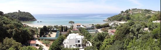 La spiaggia dell'Ariana - Gaeta (2435 clic)