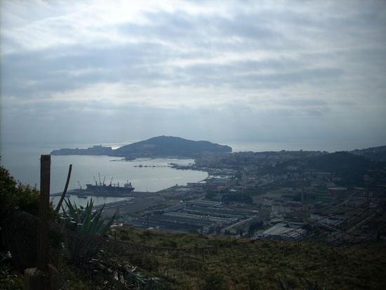 Gaeta vista da Forte Emilio (1993 clic)