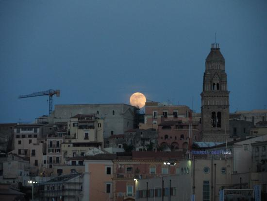 Luna piena - Gaeta (2039 clic)