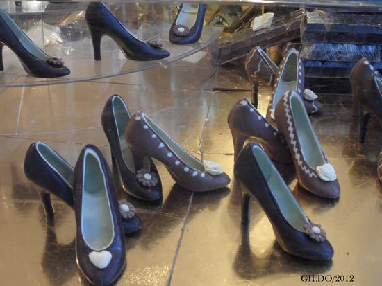 Festa del cioccolato - Scarpe di cioccolato - Gaeta (2038 clic)