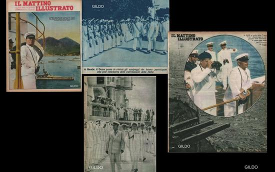Mussolini a Gaeta - 1938 (2701 clic)