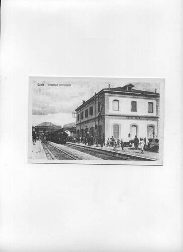 La stazione ferroviaria di Gaeta - 1920 circa (3283 clic)