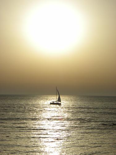 Tramonto - Marina di pescoluse (2566 clic)