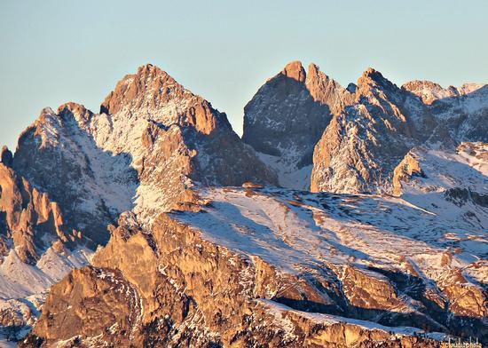 Oldle al tramonto - Selva di val gardena (2042 clic)