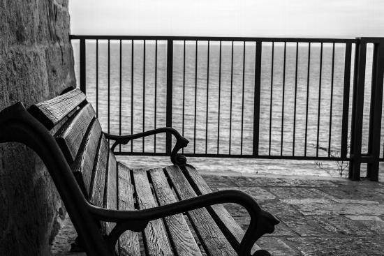 panchina - Polignano a mare (1281 clic)