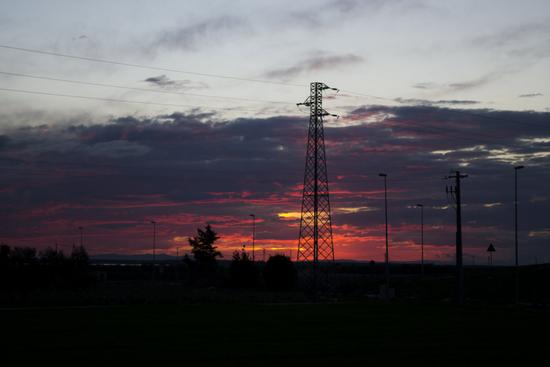 tramonto - Trinitapoli (1151 clic)