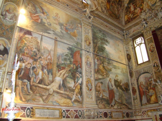 Chiesa Matrice:Affreschi dello Zoppo di Gangi - Collesano (7285 clic)